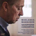 マスランカ:サックスと吹奏楽のための協奏曲
